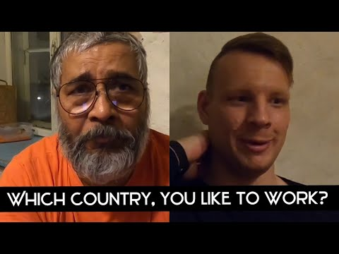 Which country would you like to work? || Questions Answers || An Estonian in Estonia