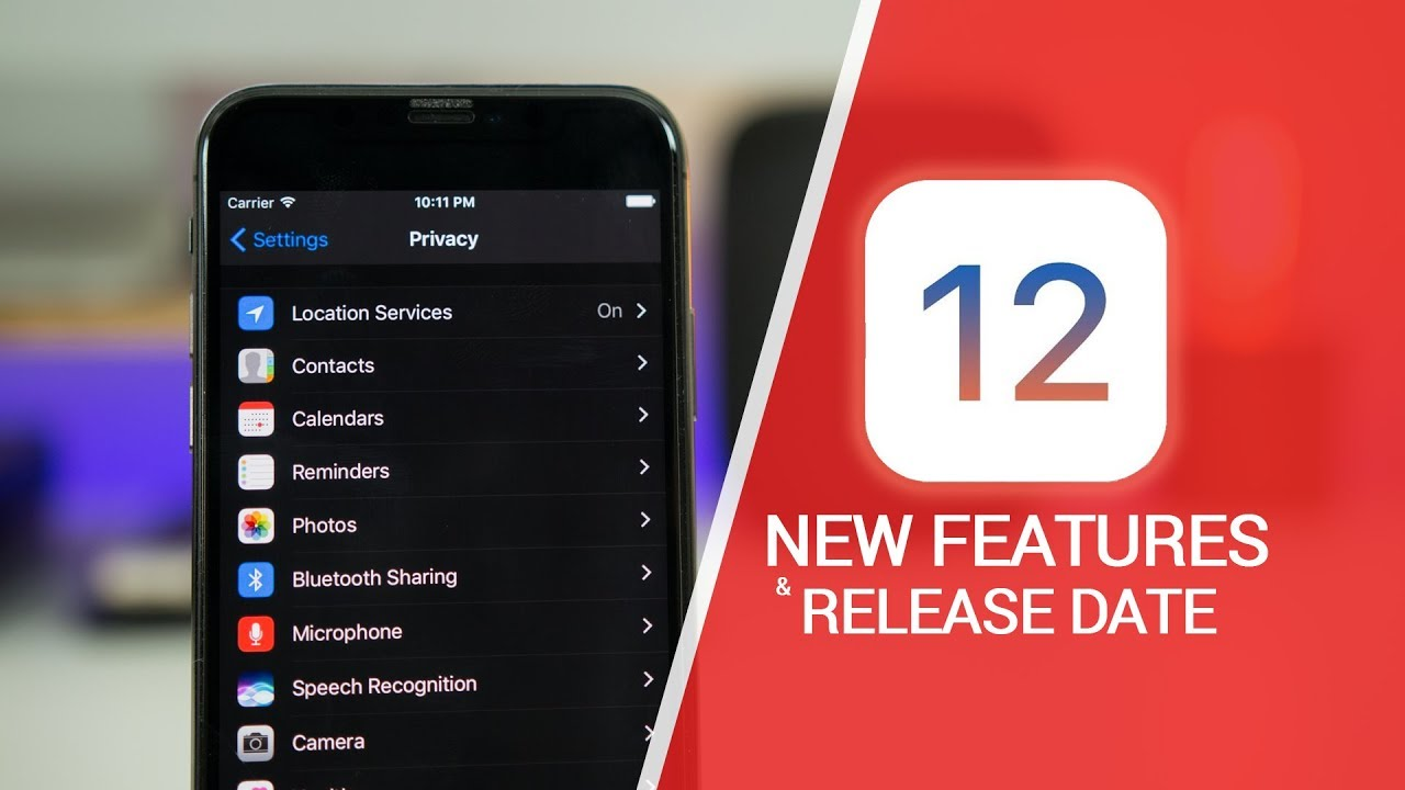 new iphone features ios 12 release date new features amp iphone 5s support 12695