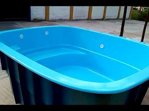 Piscina fibra rio de janeiro brasfibras youtube for Vendo piscina de fibra