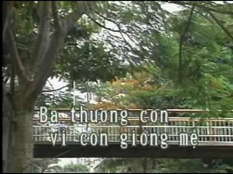 Karaoke thieu nhi - Ba Thuong Con