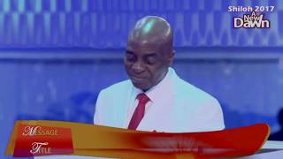 🌄 Bishop Oyedepo|The FORCE OF WISDOM|Shiloh 2017 Dec.7,2017