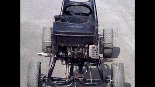 Kart avec moteur de tondeuse