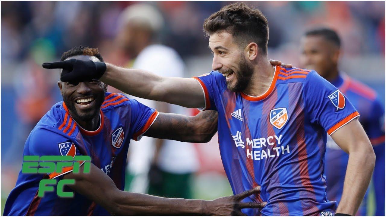 FC Cincinnati captures first ever MLS win behind Allan Cruz's backheel goal   MLS Highlights