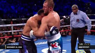 Andre Ward vs Sergey Kovalev 1&2 highlights