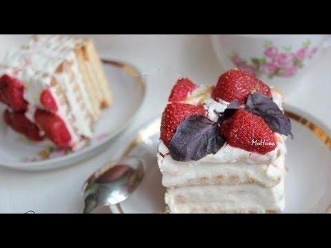 Пирожное Нежность - ВИДЕОКУЛИНАР