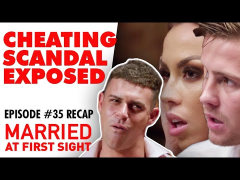 Episode 35 Recap: Bombshells Are Dropped At The Reunion Dinner Party | MAFS 2020