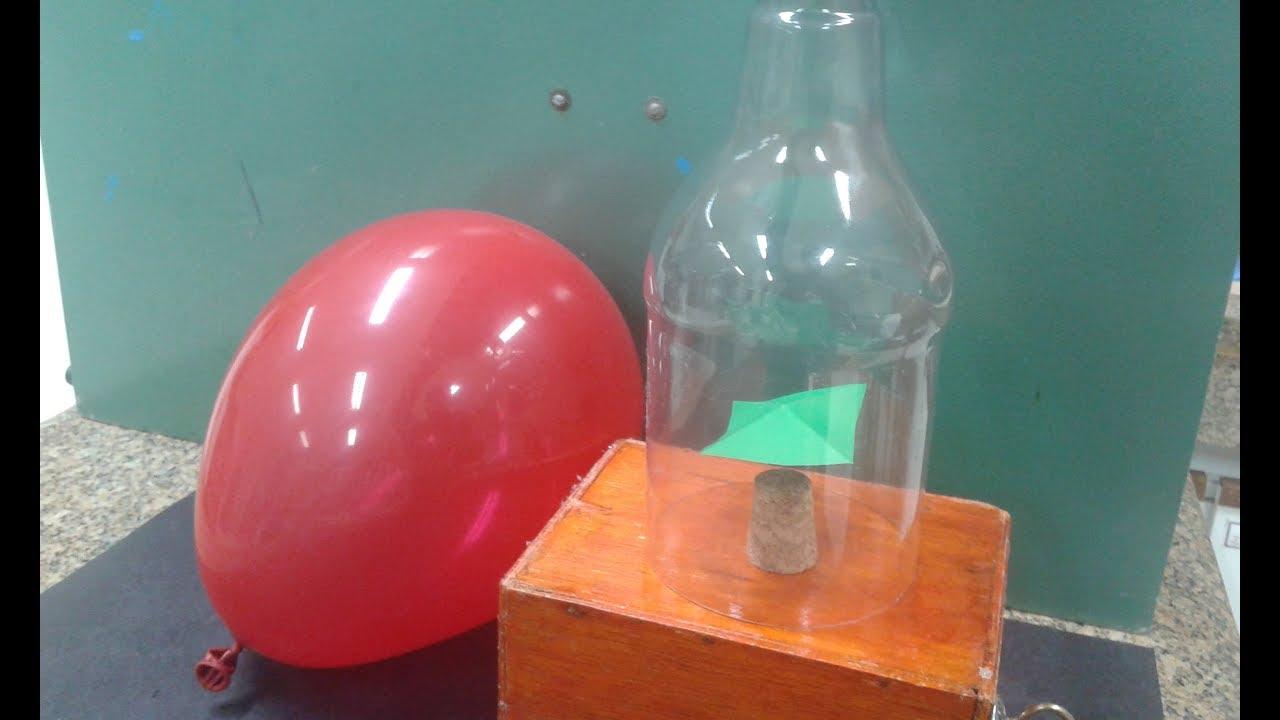 Força Invisível - Experimento de Física - Eletrostática - YouTube