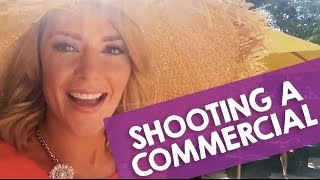 SHOOTING A COMMERCIAL // Grace Helbig