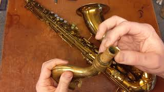 Repairman's Overview: Conn 10M Prototype Tenor Saxophone