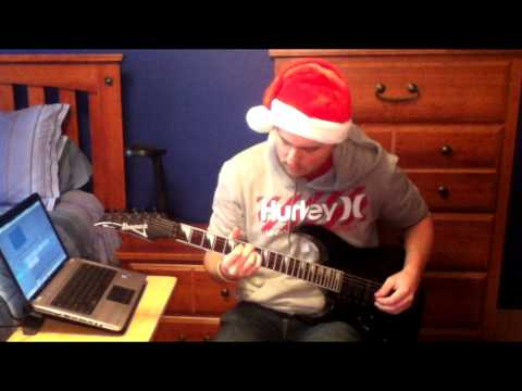 Don't Shoot Me Santa - The Killers - Guitar Cover (With Tab)