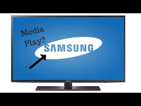 How To Use Media Play On A Samsung T.v.
