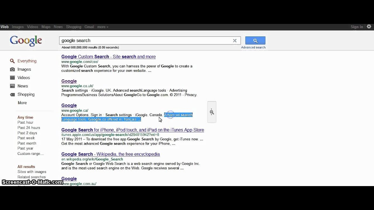 Google Testing Fixed Top Search Bar - Search Engine Land