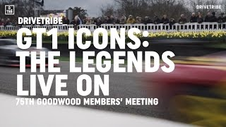 Porsche 911 GT1, McLaren F1 GTR and Ferrari F40 LM | 75th Goodwood Members' Meeting