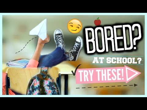 DIYs For When You're Bored At School! 😏 | Ms. Craft Nerd