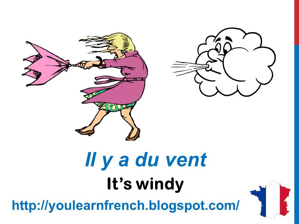 French Lesson 35 - Describe THE WEATHER in French expressions LE