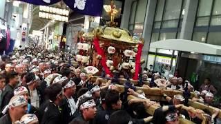 2017.10.08 御香宮神社 橘會 神輿 京都