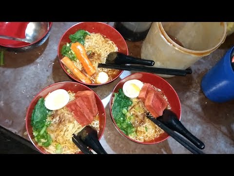 SETANNN !!! MIE RAMEN SETAN PEDAS BANGET !!! | DEPOK STREET FOOD #BikinNgiler