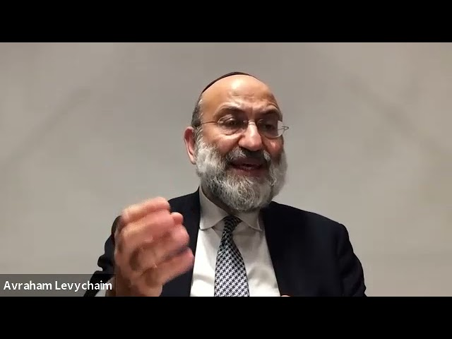A Fresh Look at Tefilat Nachem - Tefilla - R. Avraham Levychaim