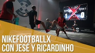 NikefootballX con Jesé y Ricardinho