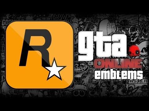 GTA V Emblem - Rockstar Games Logo - Tutorial