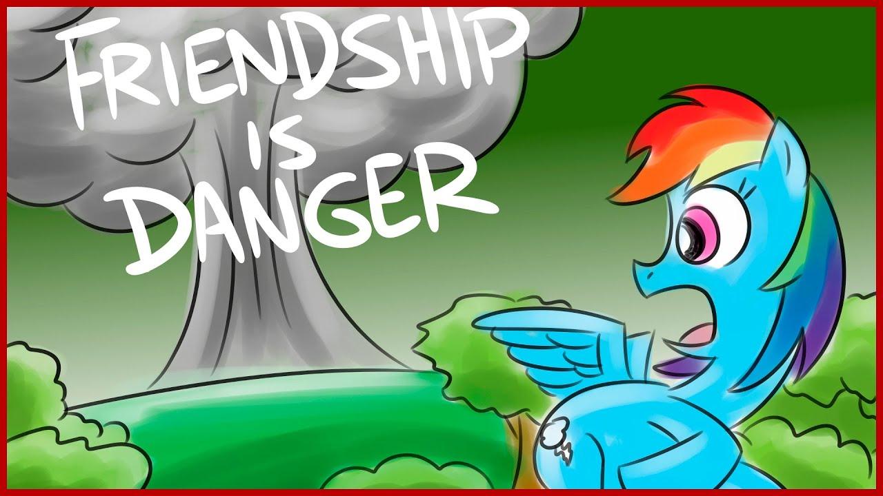 Bad Fanfiction Theatre: Friendship Is Danger