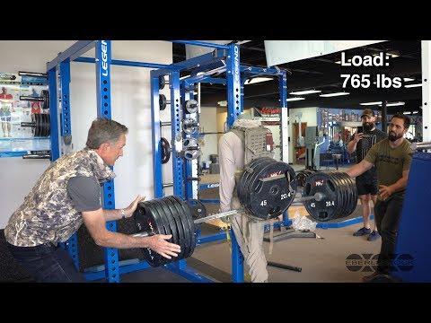 How Much Weight Can An Eberlestock Pack Hold? F1 Mainframe Stress Test