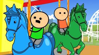 Carousel - Cyanide & Happiness Shorts