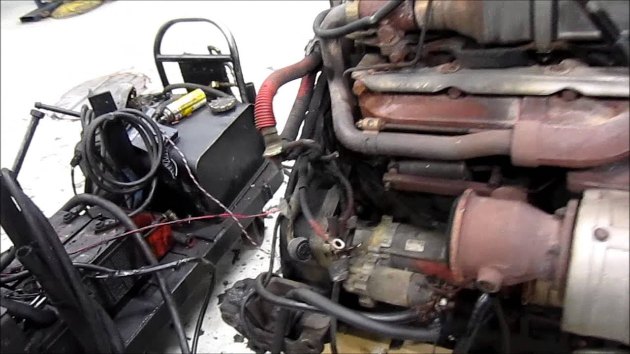 2005 Mercedes OM460 EGR Diesel Engine Running