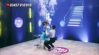 Chelsee Healey & Pasha Kovalev - Strictly Come Dancing Underwater - Sport Relief 2012 - Short Edit