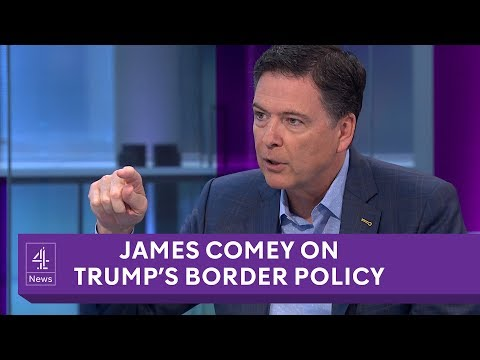 James Comey interview on Trump, Russia, Hillary Clinton and the USA's border policy