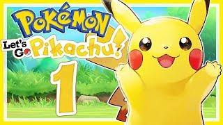 POKÉMON LET'S GO, PIKACHU! # 01 ⚡ Kanto in High Definition! • Let's Play Pokémon Let's Go, Pikachu!