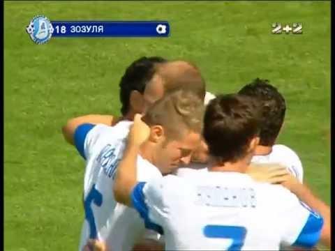 Днепр - Ильичевец - 1:0. Гол: Роман Зозуля (5')