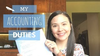 My Accounting Duties | What Do Accountants Do? |
