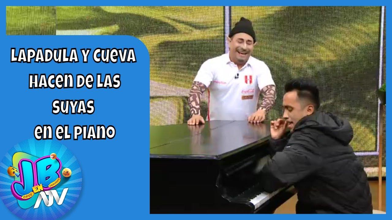 ¡Al estilo de JB en ATV! Lapadula y Cueva hacen de las suyas en el piano