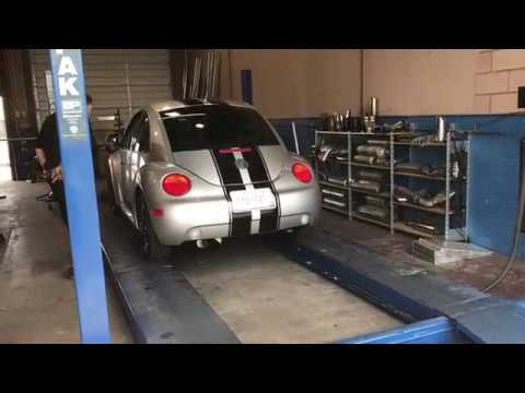 99 New Beetle: Custom Magnaflow @ Performance Exhaust in Las Vegas