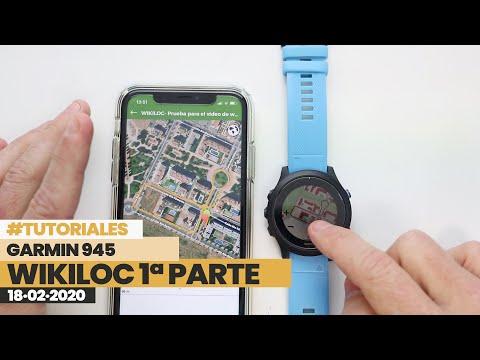Como usar WIKILOC en reloj GARMIN   BeFinisher
