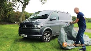 Just Kampers Luxury Breathable Van Cover for T4, T5 & T6 - J29560