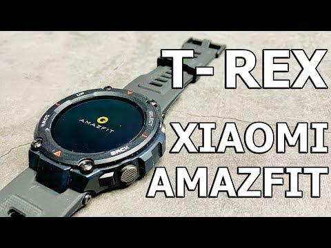 НОЖОМ ЕГО ! Сын УБИЛ АРМЕЙСКИЕ часы XIAOMI AMAZFIT T-REX !?!
