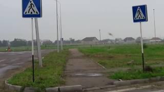 Почему 20 знаков пешеходный переход на пустыре в Аксу, а на Майры 19 и 31 ни одного? (2016.07.26)