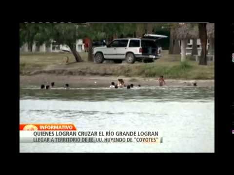"""""""Cruzar o Morir"""": NTN24 presenta la historia de inmigrante hondureña detenida tras cruzar río Grande"""