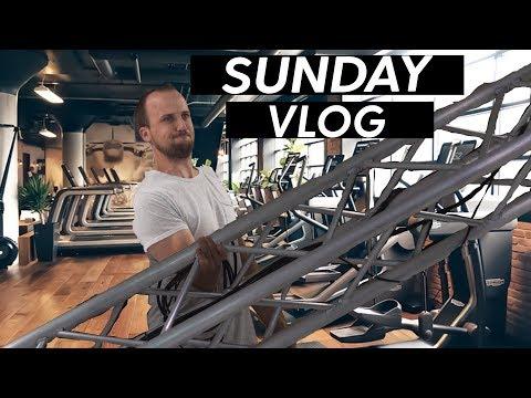 Sunday Vlog - Full Church Plant Set Up And Worship Leader Workout