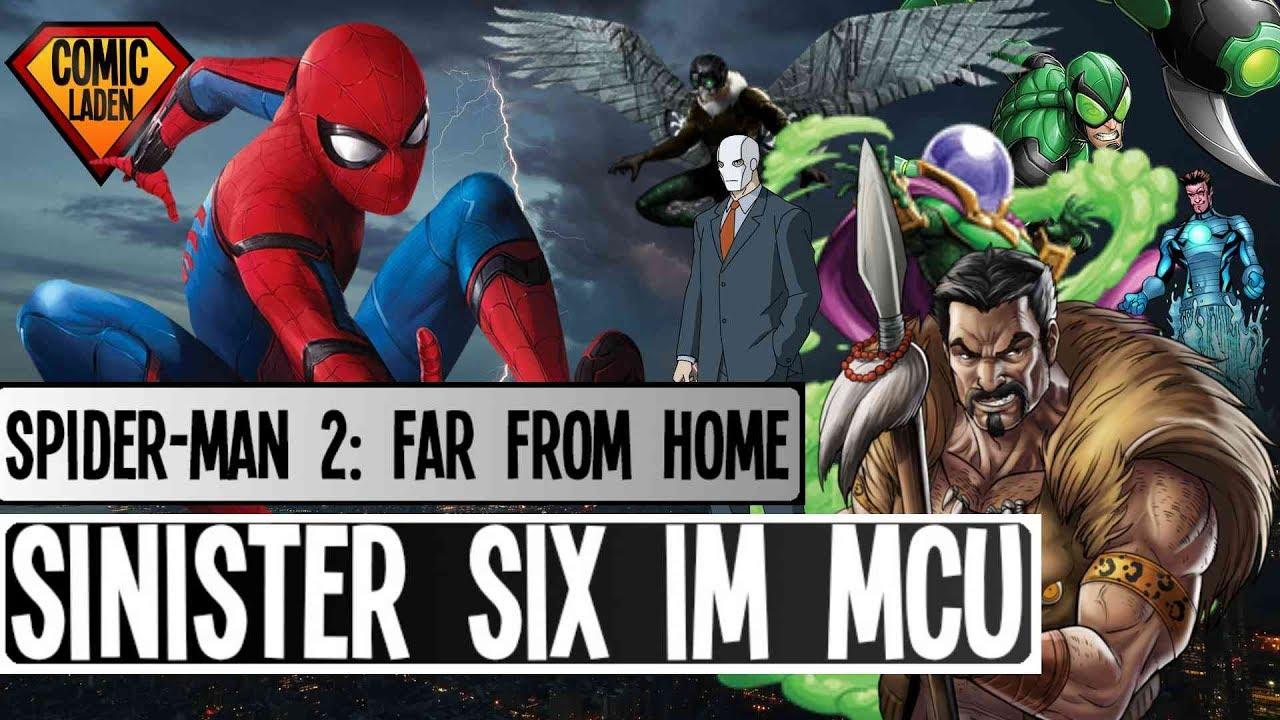 sinister six in spider-man: far from home: diese superschurken wirst