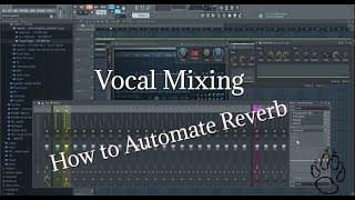 Automating vocal reverb and delay in Fl Studio!