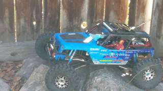 Castle creation mamba x brushless system.  Axial wraith