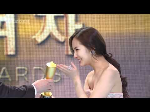 [HD] 101231 KBS Drama Awards ♥ 박민영 Park Min Young [Excellent Actress]