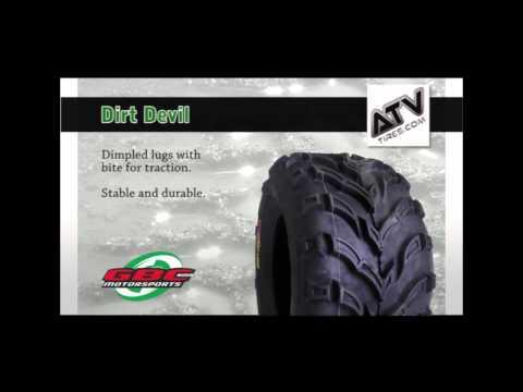 GBC Dirt Devil A//t 22-8.00-10 6 Ply ATV Tire AR1028