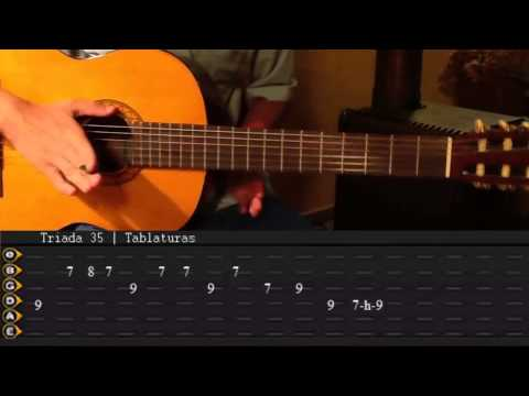 Como tocar Hotel California unplugged Tutorial Completo Tabs    Triada35