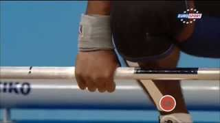 Тяжелая атлетика. Чемпионат Европы 2015 г. Мужчины до 69 кг.