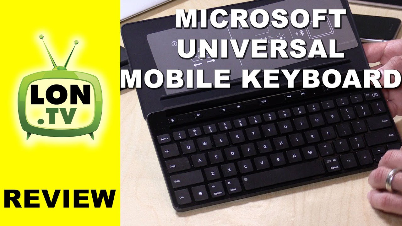 Microsoft Universal Mobile Keyboard Review – Bluetooth wireless keyboard that can pair to 3 devices