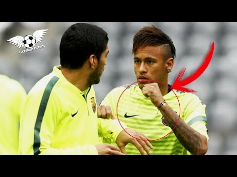 Thumbnail: Neymar y Suarez peleas en el entrenamiento - Neymar and Suarez fight in training